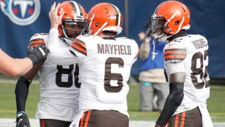 The Browns Will Be Without Four Receivers For Their Game Against The Jets Due To The NFL's COVID Protocols