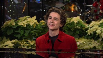 Timothée Chalamet Brought His Mom To 'SNL' But It Wasn't Her First Time On The Show