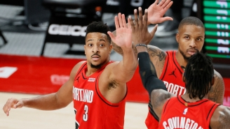 CJ McCollum And James Harden Dueled As Portland Beat Houston In An Early Game Of The Year Contender