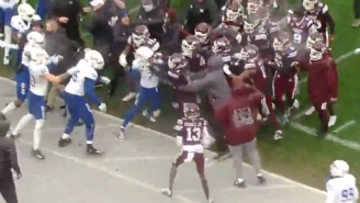 Tulsa And Mississippi State Brawled At The End Of The Armed Forces Bowl