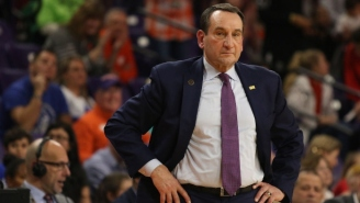 Coach K Called On The NCAA To 'Assess Where We're At' With College Basketball During The Pandemic