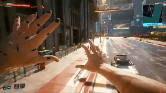 This 'Cyberpunk 2077' Glitch Video Is Basically An Unhinged, Gravity-Defying Action Movie