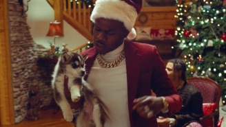 DaBaby Plays A Mean Santa And Steals 24kGoldn's Dog In Their Ice Cold 'Coco' Video