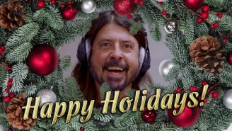Dave Grohl And Greg Kurstin Shift From Hanukkah To Christmas For Their 'Kimmel' Performance