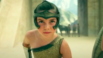 The Opening Scene For 'Wonder Woman 1984' Puts A Young Diana To The Test