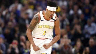 Damion Lee's Buzzer-Beater Three Gave The Warriors Their First Win Of The Season
