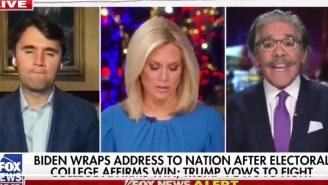 Geraldo Rivera Lost It On MAGA Diehard Charlie Kirk Over His Delusional Refusal To Accept Trump's Election Loss