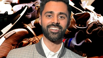 Hasan Minhaj Wants You To Buy Sneakers Without Getting Scammed