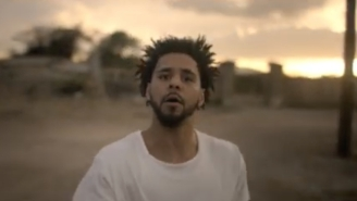 J. Cole's Shares His 'Fire Squad' Video To Celebrate The Anniversary Of '2014 Forest Hill Drive'