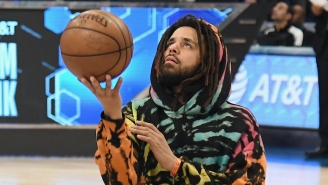 J. Cole's Rwandan Basketball Team Shares A First Look Of Him On The Court