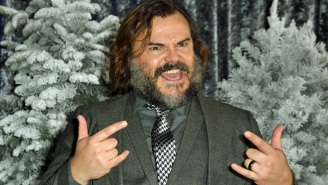 Jack Black Put His Own Rockin' Spin On 'The Mandalorian' Theme While Wearing A Boba Fett Helmet