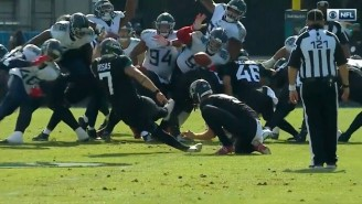 The Jaguars New Kicker Slipped On His First Ever Kick For The Team