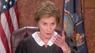 Judge Judy Went Full Judge Judy On Some Schmuck Who Wasn't Wearing A Mask