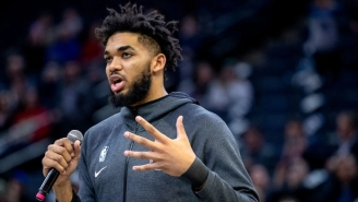 Karl-Anthony Towns Says It Took 'The Strength Of My Mother' To Fight Injustice Amid Her Loss