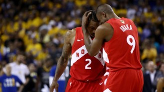 Kawhi Leonard's Free Agency Pitch To Serge Ibaka Was 'Bro Are You Coming Or No?'