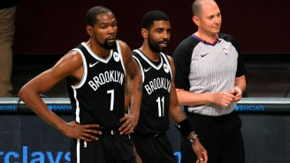 Stephen A Smith Claims The Nets Were Interested In A Kyrie-For-Ben Simmons Trade But Kevin Durant Squashed It