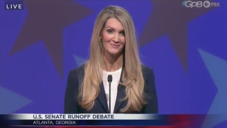 People Can't Get Over How Many Times Kelly Loeffler Robotically Said 'Radical Liberal' In The Georgia Senate Debate