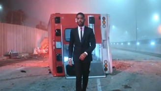 Kid Cudi Has An Out-Of-Body Experience In His 'Heaven On Earth' Video