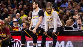Kevin Love Reacts To Kyrie Irving's 'Pawns' Instagram Post