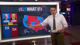 NBC's Steve Kornacki Turned To His Magic Board To Correctly Predict That Medina Spirit Would Win The Kentucky Derby