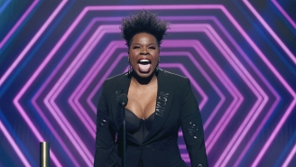 Leslie Jones Provides The Only Commentary On Trump's 'F*cking Embarrassing' Speech You Need