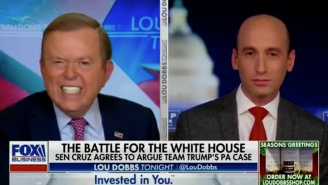 Lou Dobbs Yelled At Stephen Miller So Much He Nearly Made Him Cry, And People Loved It