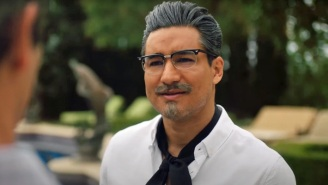 Mario Lopez Playing A Hot, Buff Colonel Sanders For Lifetime And KFC Is Giving People All Kinds Of Feelings