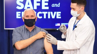 'Welcome To The Gun Show': Mike Pence Got The COVID Vaccine, Which Inspired Plenty Of Jokes About His Arms