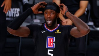 Montrezl Harrell Laughed Off The Clippers Extending Luke Kennard After Not Working A Deal Out With Him
