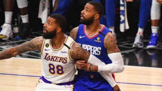 Marcus Morris Filmed Markieff Getting His Championship Ring Before Lakers-Clippers