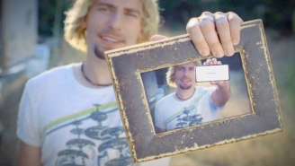 Nickelback's Chad Kroeger Regrets His Old Ramen Hair In A Hilarious 'Photograph' Parody For Google