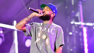 Nipsey Hussle Received A Shout Out In A Golden Globe Winner's Acceptance Speech