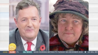 Piers Morgan Claims That He's Not The Pigeon Lady From 'Home Alone 2,' Despite Evidence To The Contrary