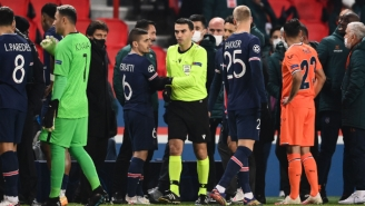 PSG And Istanbul Basaksehir Walked Off After An Official Allegedly Called An Istanbul Coach A Racist Slur