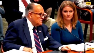 Rudy Giuliani Possibly Passing Gas During A Public Hearing Is The Subject Of Hot Debate