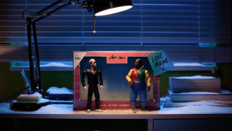 Run The Jewels Stop-Motion 'Walking In The Snow' Video Is A Dystopian Toy Story