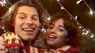 Shawn Mendes And Camila Cabello Enjoy A Cozy Holiday Season In Their 'The Christmas Song' Video