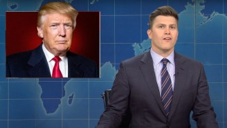 'SNL' Weekend Update Bid Farewell To A Trump Presidency With A Montage Of His Most Ridiculous Moments
