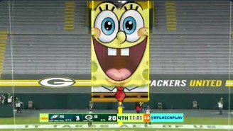 Nickelodeon's NFL Playoff Broadcast Will Feature Googly Eyes, Slime, And SpongeBob