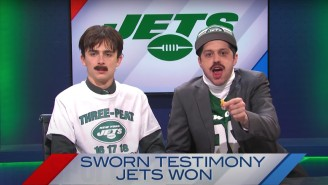 'SNL' Roasted The Hapless Jets And Delusional Trump Supporters With A Sketch About 'Sportsmax'