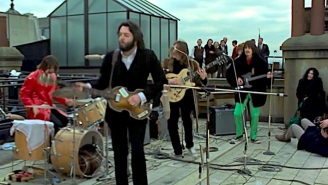 Peter Jackson Shows Off Previously Unseen Footage Of The Beatles Having Lighthearted Fun