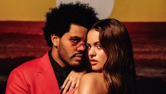 The Weeknd Taps Rosalía For A New Spanish-Infused 'Blinding Lights' Remix