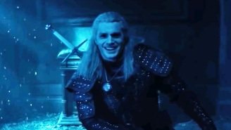 'The Witcher' Can't Stop Smiling In A Blooper Reel (With An Assist From Roach The Horse)
