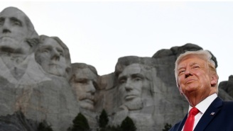 Ivanka Trump Posted A Photo Of Her Dad 'On' Mount Rushmore, And People Are Dragging Her With Other Ideas Of Where His Mug Will Go