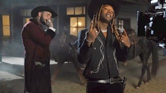 Post Malone And Ty Dolla Sign Go Full Desperado In Their 'Spicy' Video's Behind-The-Scenes