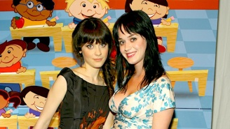 Katy Perry Tells Zooey Deschanel She Used To Pose As Her To Get Into Clubs Before She Was Famous