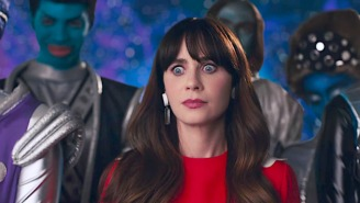 There's A Mix-Up Between Famous Lookalikes Katy Perry And Zooey Deschanel In Perry's Latest Video