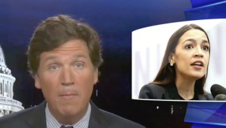 People Are Pointing Out The Hypocrisy Of Tucker Carlson's 'Vile And Vicious' Attack On Alexandria Ocasio-Cortez