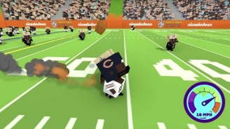 Nickelodeon's Bears-Saints Broadcast Had Pixelated Halftime Highlights Inspired By 'Minecraft'