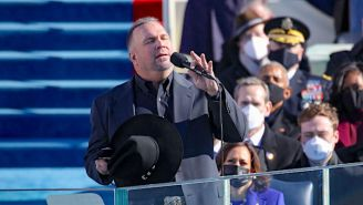 Garth Brooks Calls For Unity With His 'Amazing Grace' Performance At The Inauguration